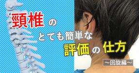 頸椎のとても簡単な評価の仕方  ~回旋編~