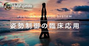 【POSTURE CONTROL SYSTEM】姿勢制御の臨床応用