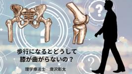 【脳卒中シリーズ】歩行になるとどうして膝が曲がらないのか?
