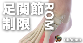 【ROM】足関節背屈制限